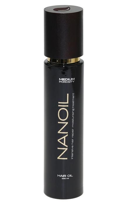 Haaröl Nanoil für Haare mit hoher Porosität